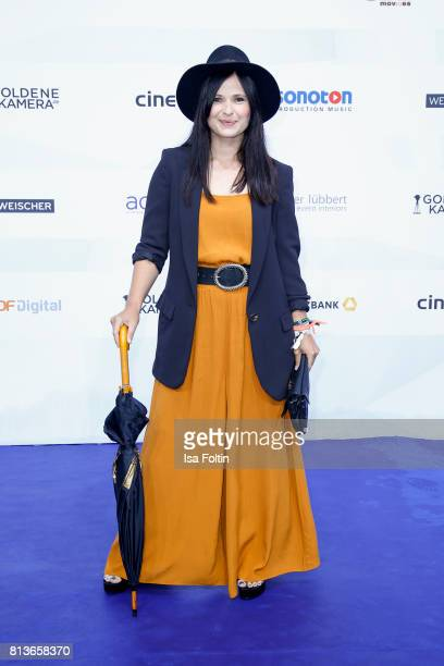 German actress Anna Fischer attends the summer party 2017 of the German Producers Alliance on July 12 2017 in Berlin Germany