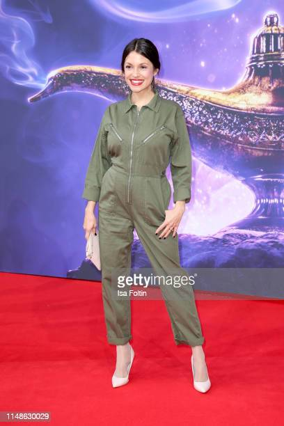 German actress Anna Julia Antonucci attends the movie premiere of Aladdin at UCI Luxe Mercedes Platz on May 11 2019 in Berlin Germany