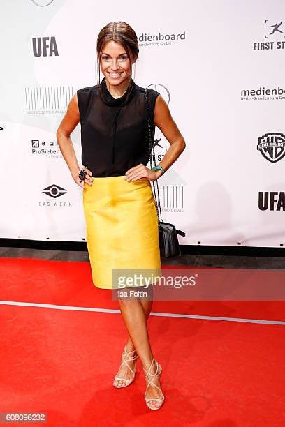 German actress Anna Julia Kapfelsperger attends the First Steps Awards 2016 at Stage Theater on September 19 2016 in Berlin Germany