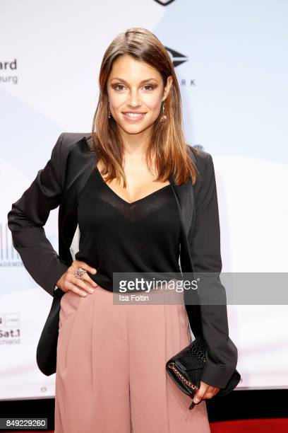 German actress Anna Julia Kapfelsperger attends the First Steps Awards 2017 at Stage Theater on September 18 2017 in Berlin Germany