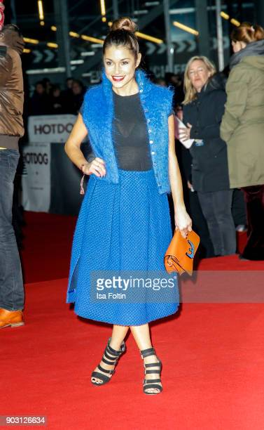German actress Anna Julia Kapfelsperger attends the 'Hot Dog' world premiere at CineStar on January 9 2018 in Berlin Germany