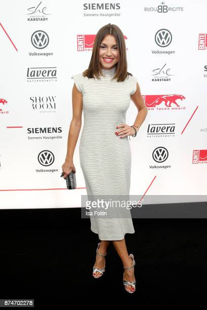 German actress Anna Julia Kapfelsperger attends the New Faces Award Style 2017 at The Grand on November 15 2017 in Berlin Germany