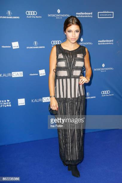 German actress Anna Julia Kapfelsperger during the 6th German Actor Award Ceremony at Zoo Palast on September 22 2017 in Berlin Germany