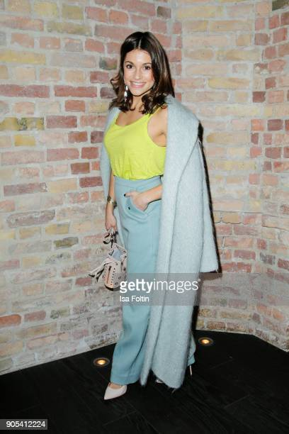 German actress Anna Julia Kapfelsperger during the Bunte New Faces Night at Grace Hotel Zoo on January 15 2018 in Berlin Germany