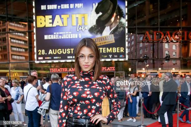 German actress Anna Julia Kapfelsperger during the musical premiere of 'BEAT IT Die Show ueber den King of Pop' at Stage Theater am Potsdamer Platz...
