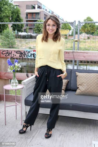 German actress Anna Julia Kapfelsperger during the nominees announcement of the German Play Award 2018 at Kornversuchsspeicher on June 15 2018 in...