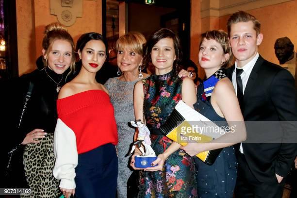 German actress Anna Lena Klenke, German actress Gizem Emre, German actress Uschi Glas, Director Lena Schoemann, German actress Jella Haase and German...