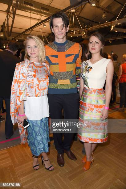 German actress Anna Maria Muehe german actor Sabin Tambrea and his girlfriend german actress Alice Dwyer attend the BIDI BADU by Kilian Kerner...