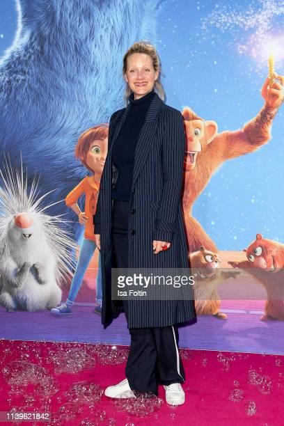 "German actress Anna Schudt attends the ""Willkommen im Wunder Park"" premiere at Kino in der Kulturbrauerei on March 31, 2019 in Berlin, Germany."