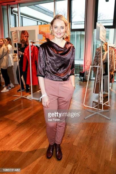 German actress AnneCatrin Maerzke attends the InStyle Lounge Opening Brunch/Open House at Cafe Moskau on January 16 2019 in Berlin Germany