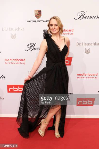 German actress AnneCatrin Maerzke attends the Medienboard BerlinBrandenburg Reception on the occasion of the 69th Berlinale International Film...