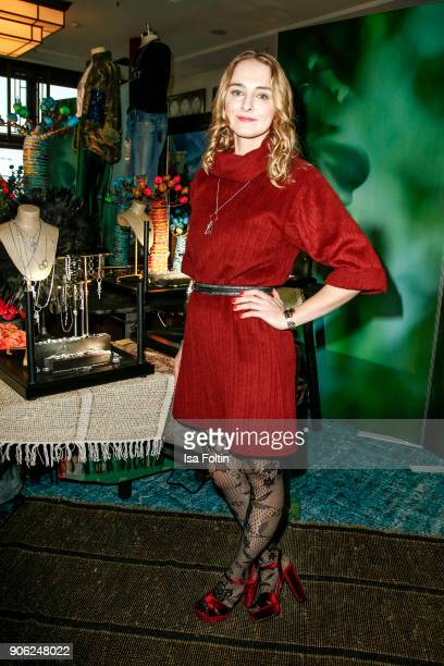 German actress AnneCatrin Maerzke attends the Thomas Sabo Press Cocktail during the MercedesBenz Fashion Week Berlin A/W 2018 at China Club on...