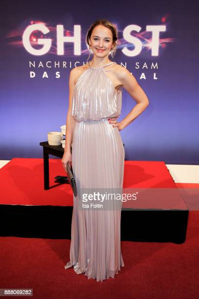 German actress AnneCatrin Maerzke during the premiere of 'Ghost Das Musical' at Stage Theater on December 7 2017 in Berlin Germany