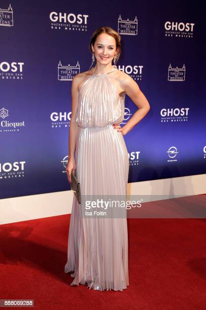 German actress Anne-Catrin Maerzke during the premiere of 'Ghost - Das Musical' at Stage Theater on December 7, 2017 in Berlin, Germany.
