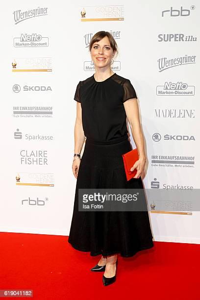 German actress Anneke Kim Sarnau attends the Goldene Henne on October 28 2016 in Leipzig Germany