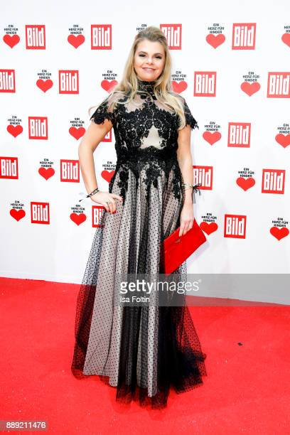 German actress AnneSophie Briest attends the 'Ein Herz fuer Kinder Gala' at Studio Berlin Adlershof on December 9 2017 in Berlin Germany