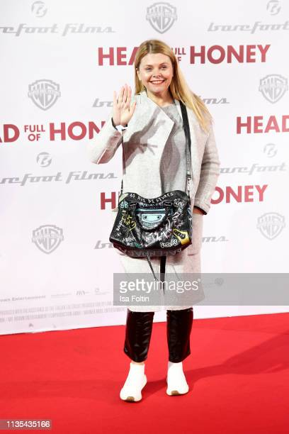 German actress AnneSophie Briest during the Head full of Honey premiere at Zoo Palast on March 12 2019 in Berlin Germany