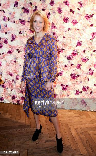 German actress Annika Ernst attends the Blaue Blume Awards at Restaurant Grosz on February 6, 2019 in Berlin, Germany.
