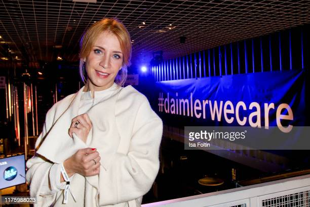 German actress Annika Ernst attends the Daimler event Be a Mover at BRLO on October 14 2019 in Berlin Germany