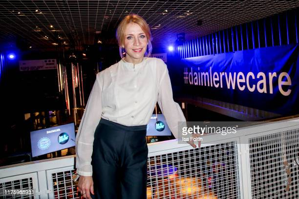 """German actress Annika Ernst attends the Daimler event """"Be a Mover"""" at BRLO on October 14, 2019 in Berlin, Germany."""