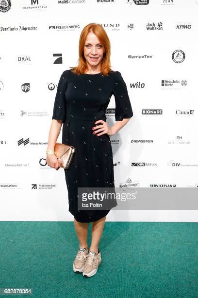 German actress Annika Ernst attends the GreenTec Awards at ewerk on May 12 2017 in Berlin Germany