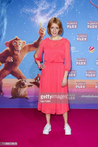 German actress Annika Ernst attends the Willkommen im Wunder Park premiere at Kino in der Kulturbrauerei on March 31 2019 in Berlin Germany