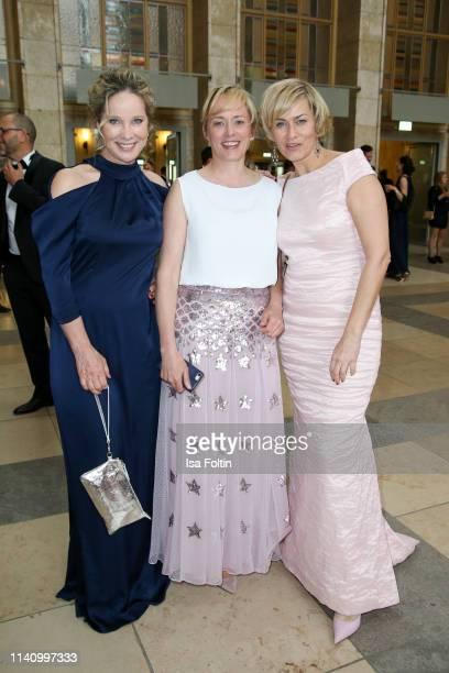 German actress AnnKathrin Kramer German actress Silke Bodenbender and German actrerss Gesine Cukrowski attend the Lola German Film Award at Palais am...