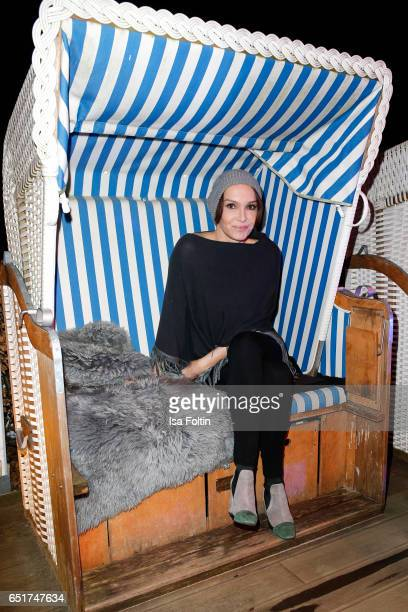 German actress Anouschka Renzi attends the 'Baltic Lights' charity event on March 10 2017 in Heringsdorf Germany Every year German actor Till...