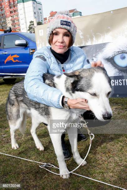 German actress Anouschka Renzi attends the 'Baltic Lights' charity event on March 11, 2017 in Heringsdorf, Germany. Every year German actor Till...