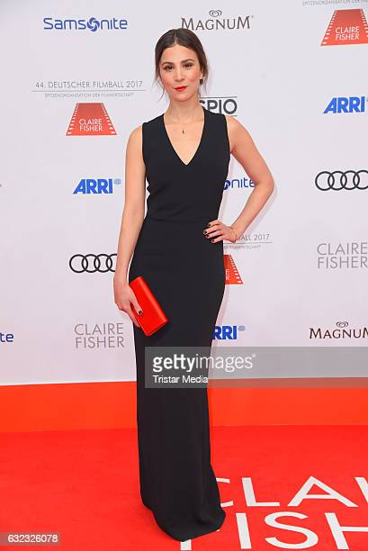 German actress Aylin Tezel attends the German Film Ball 2017 at Hotel Bayerischer Hof on January 21 2017 in Munich Germany