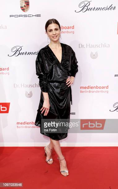 German actress Aylin Tezel attends the Medienboard Berlin-Brandenburg Reception on the occasion of the 69th Berlinale International Film Festival at...