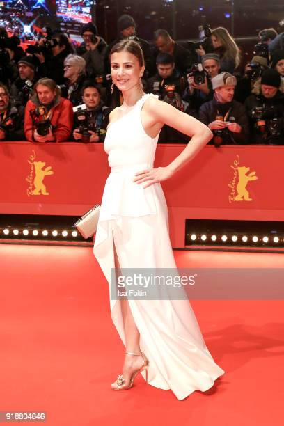 German actress Aylin Tezel attends the Opening Ceremony 'Isle of Dogs' premiere during the 68th Berlinale International Film Festival Berlin at...