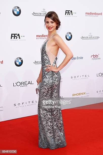 German actress Aylin Tezel during the Lola German Film Award 2016 on May 27 2016 in Berlin Germany
