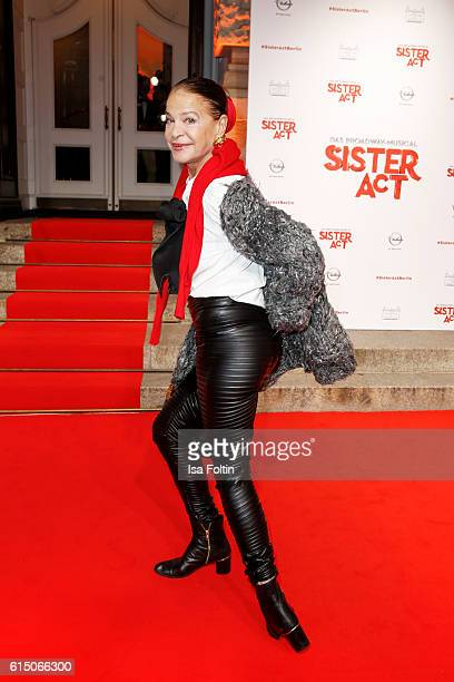 German actress Barbara Engel attends the 'Sister Act The Musical' premiere at Stage Theater on October 16 2016 in Berlin Germany