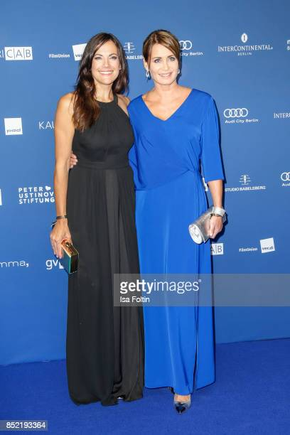 German actress Bettina Zimmermann and German actress Anja Kling during the 6th German Actor Award Ceremony at Zoo Palast on September 22 2017 in...