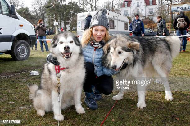 German actress Birte Glang attends the 'Baltic Lights' charity event on March 11 2017 in Heringsdorf Germany Every year German actor Till Demtroder...