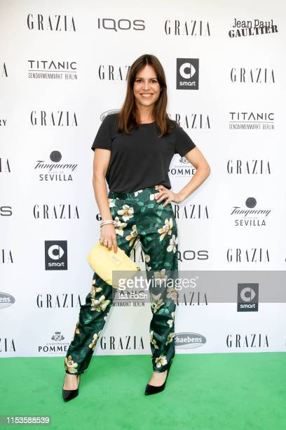 German actress Birthe Wolter during the Grazia Fashion Night at Titanic Hotel on July 3 2019 in Berlin Germany