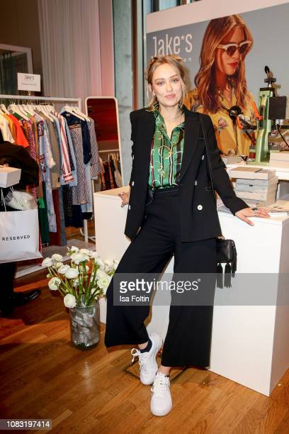 German actress Caro Cult attends the InStyle Lounge Opening Brunch/Open House at Cafe Moskau on January 16 2019 in Berlin Germany