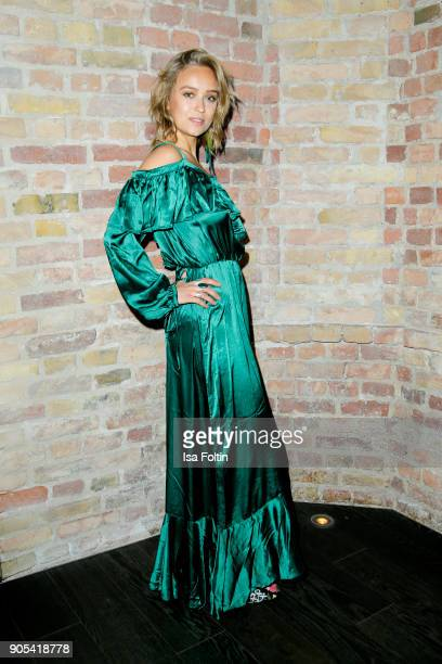 German actress Caro Cult during the Bunte New Faces Night at Grace Hotel Zoo on January 15 2018 in Berlin Germany