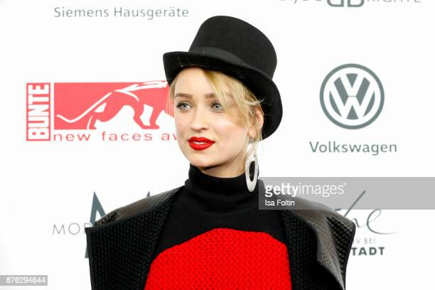 German actress Caro Daur attends the New Faces Award Style 2017 at The Grand on November 15 2017 in Berlin Germany