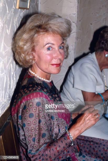 German actress Carola Hoehn, Germany, 1970s.
