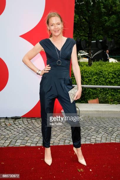 German actress Carolin Fink attends the Bayerischer Fernsehpreis 2017 at Prinzregententheater on May 19 2017 in Munich Germany