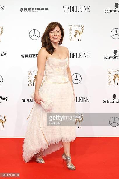 German actress Carolina Vera arrives at the Bambi Awards 2016 at Stage Theater on November 17 2016 in Berlin Germany