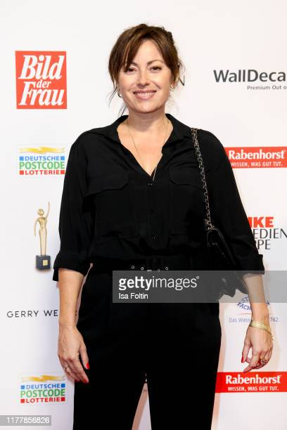 German actress Carolina Vera attends the annual Goldene Bild der Frau award on October 23 2019 in Hamburg Germany
