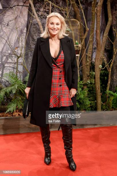 German actress Caroline Beil attends the European premiere of the film 'Bird Box' at Zoo Palast on November 27, 2018 in Berlin, Germany.