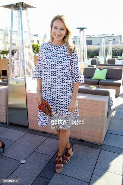 German actress Caroline Beil during the Ladies Dinner at Hotel De Rome on July 1, 2018 in Berlin, Germany.