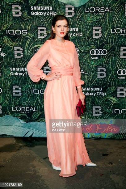 German actress Caroline Hartig attends the Place To B PreBerlinaleDinner at Restaurant Tim Raue on February 18 2020 in Berlin Germany