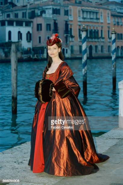 German actress Catherine H Flemming stars in TV film 'Le jeune Casanova' directed by Giacomo Battiato