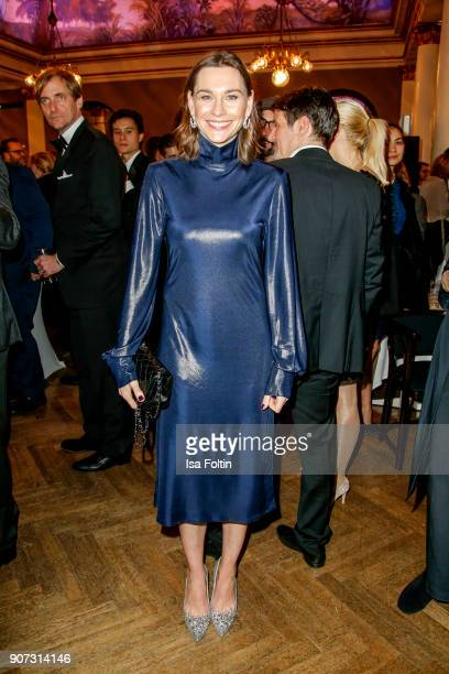 German actress Christiane Paul attends the Bayerischer Filmpreis 2017 at Prinzregententheater on January 21 2018 in Munich Germany