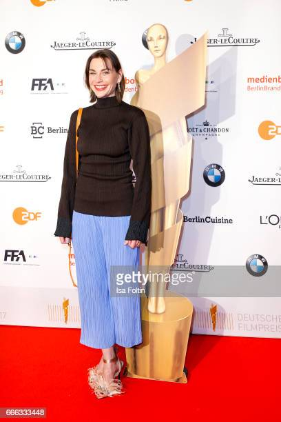 German actress Christiane Paul attends the nominee dinner for the German Film Award 2017 Lola at BMW Niederlassung Berlin on April 8 2017 in Berlin...